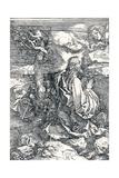 Agony in the Garden, 1515 Giclee Print by Albrecht Dürer