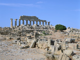 Acropolis, Selinunte, Sicily, Italy Photographic Print by Peter Thompson