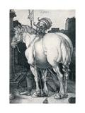 The Large Horse, 1505 Giclee Print by Albrecht Dürer