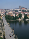 Charles Bridge, Prague, Czech Republic Photographic Print by Peter Thompson
