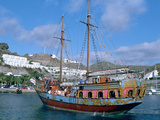 Party Boat, Puerto Rico, Gran Canaria, Canary Islands Photographic Print by Peter Thompson