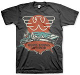 Waylon Jennings- Live in Concert Shirts