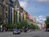 Nk (Nordiska Kompaniet) Department Store, Hamngatan, Stockholm, Sweden Photographic Print by Peter Thompson