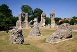 Abbey Ruins, Bury St Edmunds, England Photographic Print by Peter Thompson