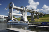 Falkirk Wheel, Stirlingshire, Scotland, 2009 Photographic Print by Peter Thompson