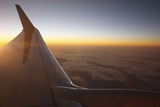 Sunset at 35,000 Feet Above La Palma, Canary Islands, Spain, 2009 Photographic Print by Peter Thompson