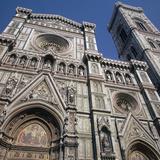 West Front of the Basilica Di Santa Maria Del Fiore, 14th-15th Century Photographic Print by  Giotto