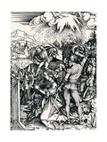 The Martyrdom of St Catherine, 1497 Giclee Print by Albrecht Dürer