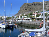Harbour of Puerto De Mogan, Gran Canaria, Canary Islands Photographic Print by Peter Thompson