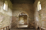 Interior of Oddas Chapel, Deerhurst, Gloucestershire, 2010 Photographic Print by Peter Thompson