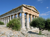 Temple, Segesta, Sicily, Italy Photographic Print by Peter Thompson