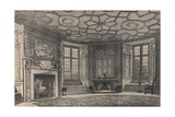 The Circular Dining-Room, Longford Castle, Wiltshire, 1915 Giclee Print by CJ Richardson