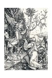 Joachim and the Angel, 1506 Reproduction procédé giclée par Albrecht Dürer