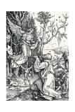 Joachim and the Angel, 1506 Giclée-Druck von Albrecht Dürer