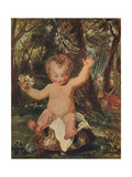 Puck, from a Water-Colour Drawing by Stoddart, after Reynolds, (1789), 1903 Giclee Print by Thomas Stothard