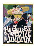 Cover Design by Andre Helle for Histoire Dune Boite a Joujoux, 1926, (1929) Giclee Print by Andre Helle