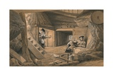 Mine in the Bastion Du Mat, 1856 Giclee Print by Thomas Picken