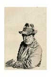 Self Portrait, C1933 Giclee Print by Joseph Simpson