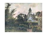 Church of Knocke, 1894 Reproduction procédé giclée par Camille Pissarro
