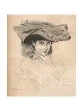 Portrait of the Artists Daughter, C1879-1903, (1903) Giclee Print by Paul Helleu