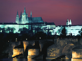 The Castle, Prague, Czech Republic Photographic Print by Peter Thompson