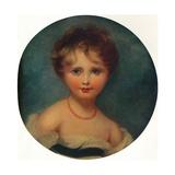 Portrait of Lady Emily Cowper, C1815, (1913) Giclée-tryk af Thomas Lawrence
