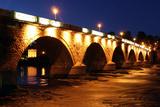 Old Bridge at Night, Perth, Scotland Photographic Print by Peter Thompson