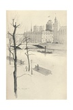 The Pont Au Change, 1915 Giclee Print by Eugene Bejot