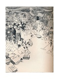 The Property Room of a Clever Cartoonist, C1890 Giclee Print by Frederick Richardson