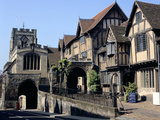 Lord Leycester Hospital, Warwick Photographic Print by Peter Thompson