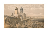 The Admiralty, Sebastopol, 1856 Giclee Print by William Simpson