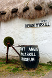 The Giant Macaskill Museum, Dunvegan, Isle of Skye, Highland, Scotland Photographic Print by Peter Thompson
