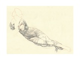 Study in Drapery, C1900 Giclee Print by Henry Holiday