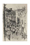 Rue Des Pretres-St Séverin, 1915 Giclee Print by Charles Jouas