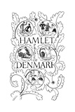 Title Page for Hamlet, 1932 Giclee Print by Eric Gill