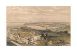 Sebastopol from Old Chersonese and Ancient Church of St Vladimir, 1856 Giclee Print by William Simpson