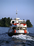 Ferry Roma, Lake Maggiore, Italy Photographic Print by Peter Thompson