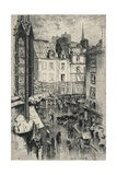 Rue Galande, 1915 Giclee Print by Charles Jouas