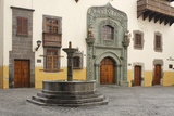 Casa De Colon, Las Palmas, Gran Canaria, Canary Islands, Spain Photographic Print by Peter Thompson