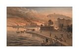 Burning of the Government Buildings at Kertch, 9th June 1855, 1856 Giclee Print by Thomas Picken