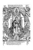 Philosophia, 1502 Giclee Print by Albrecht Dürer