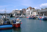 Old Harbour, Weymouth, Dorset Photographic Print by Peter Thompson