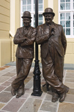 Laurel and Hardy Statue, Coronation Hall, Ulverston, Cumbria, 2009 Photographic Print by Peter Thompson