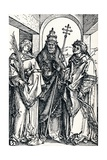 Saints Stephen, Sixtus and Lawrence, 1508 Giclee Print by Albrecht Dürer