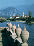 Lake Maggiore, Isola Superior Dei Pescatori, Italy Photographic Print by Peter Thompson