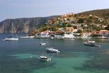 Assos, Kefalonia, Greece Photographic Print by Peter Thompson