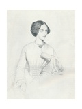 Johanna Wagner, 1852 Giclee Print by Richard James Lane