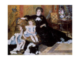 Madame Georges Charpentier and Her Children, 1878 Giclee Print by Pierre-Auguste Renoir