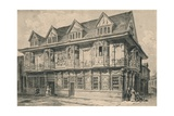 Old House at Ipswich, Suffolk, 1915 Giclee Print by CJ Richardson