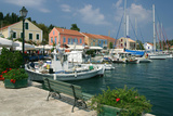 Fiskardo Harbour, Kefalonia, Greece Photographic Print by Peter Thompson